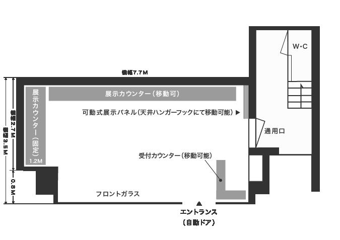 ギャラリー館内図