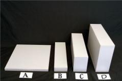 アジャスト用木製ブロック(白色)